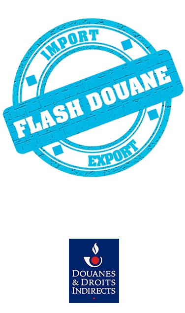 Visuel Flash Douane